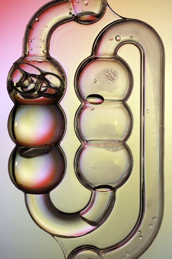 Bubbler airlock fotografia stock