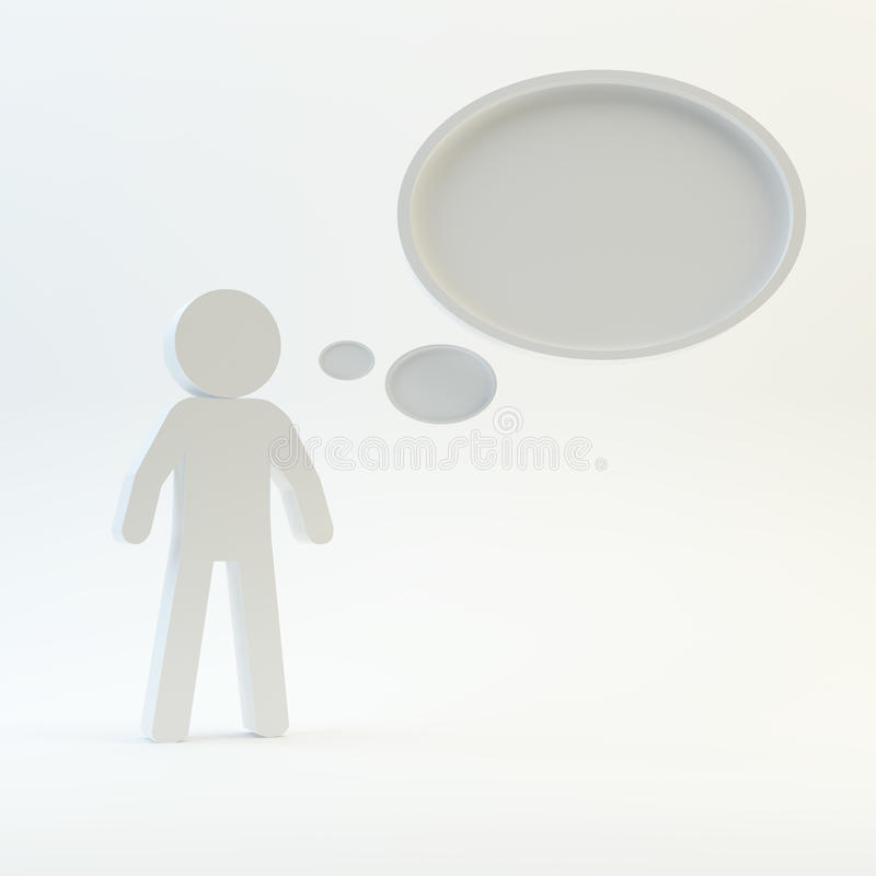 Download Bubbles stock illustration. Image of happy, thought, think - 38650517