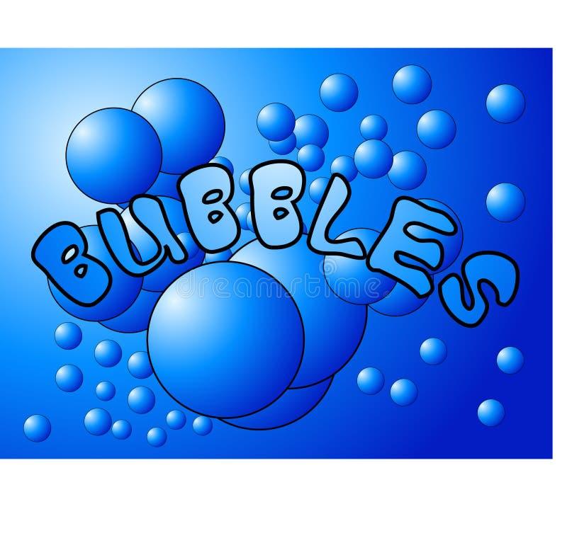 Bubbles 4 royalty free illustration