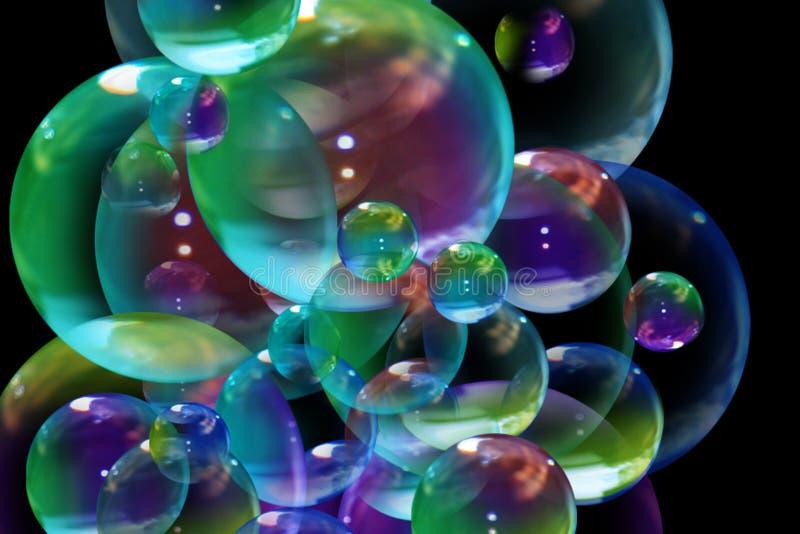 Download Bubbles stock illustration. Image of curve, dream, idea - 5444087