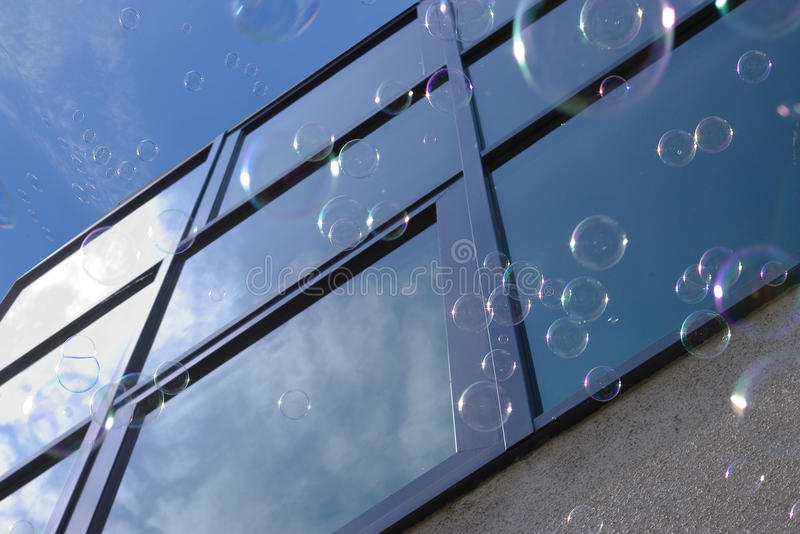 Download Bubbles Against Window Royalty Free Stock Photo - Image: 14811295