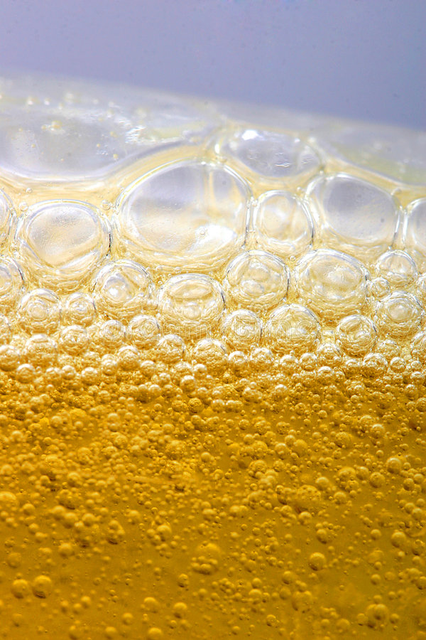 Bubbles In Beer Stock Images