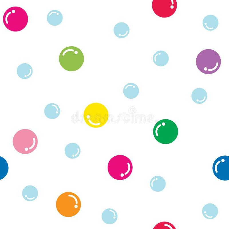 bubbles färgrikt