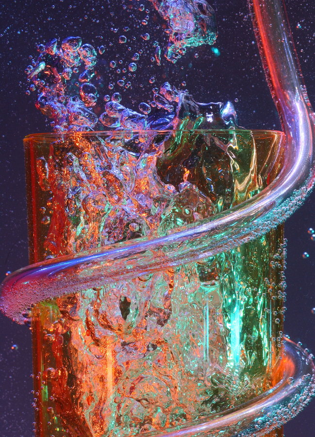 bubbles färgrikt royaltyfria foton