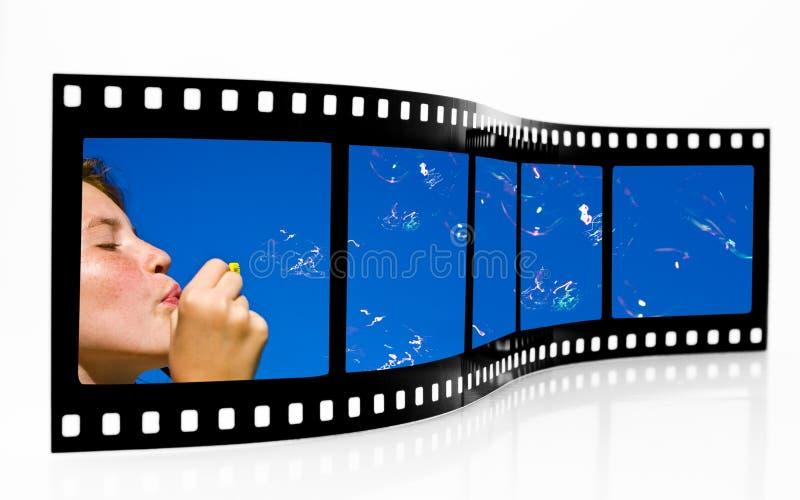 Bubbles Film Strip