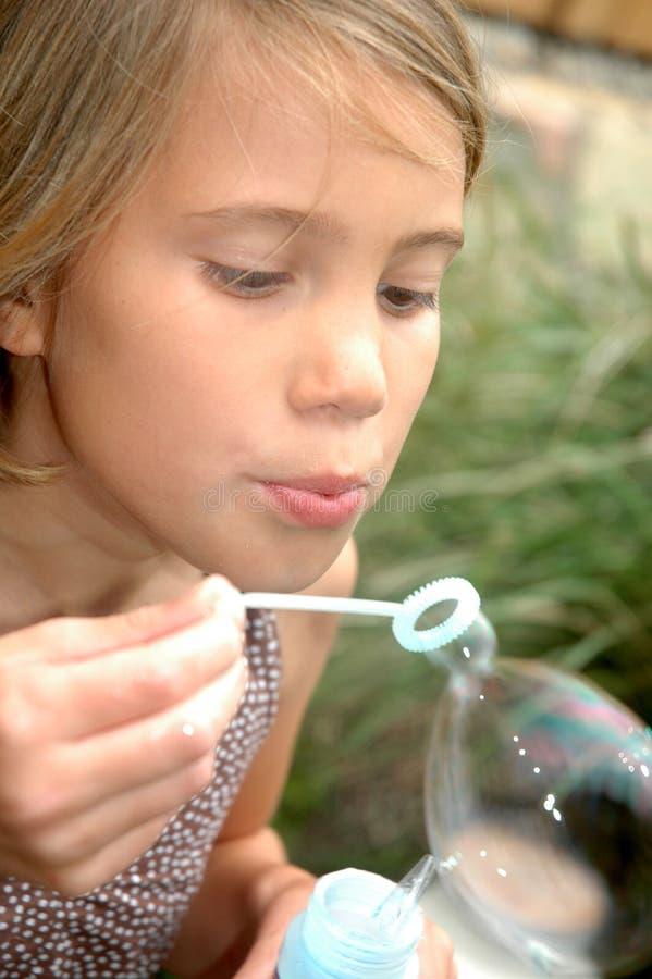 bubbles gyckel royaltyfri bild