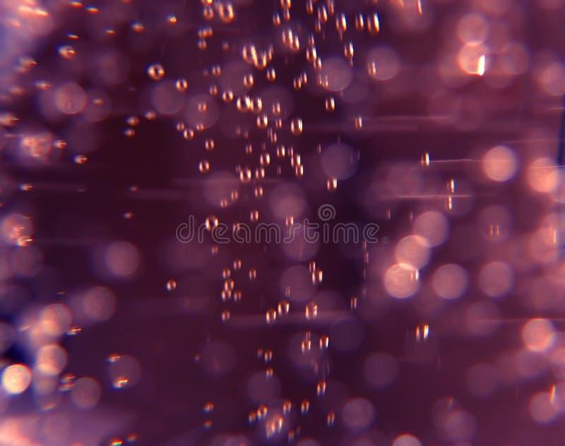 bubbles purplen arkivbilder