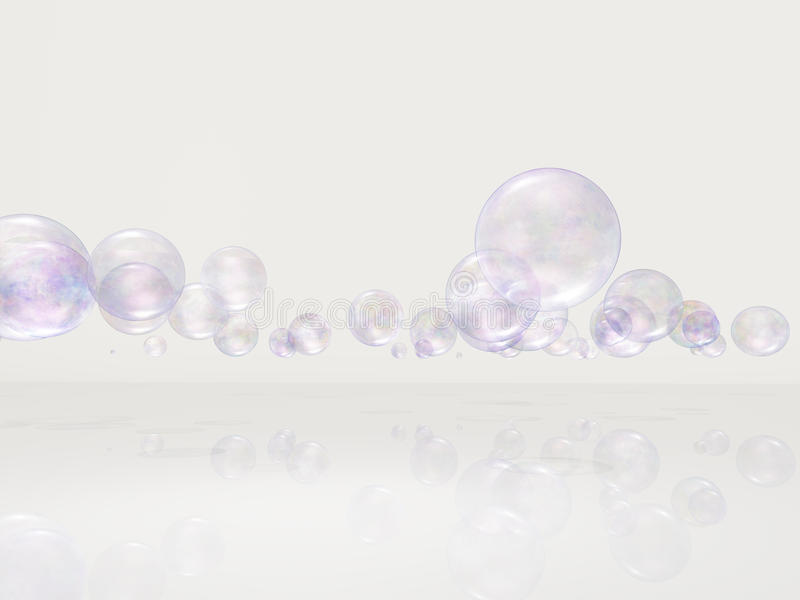 Download Bubbles in white space stock illustration. Illustration of fresh - 39509583