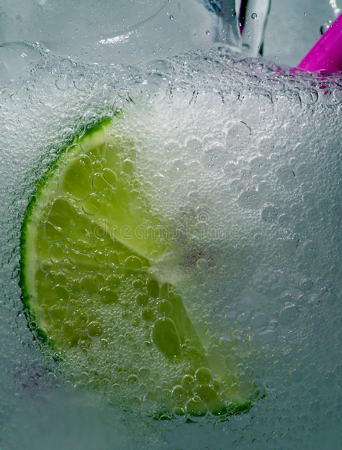 Bubbly Cool Drink royalty free stock photo