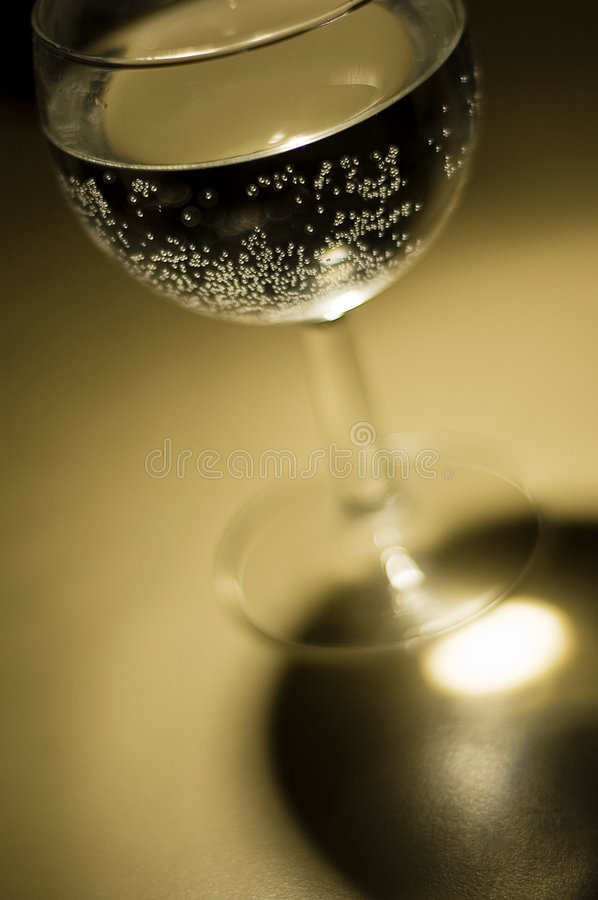 Bubbly Wineglass Royalty Free Stock Image