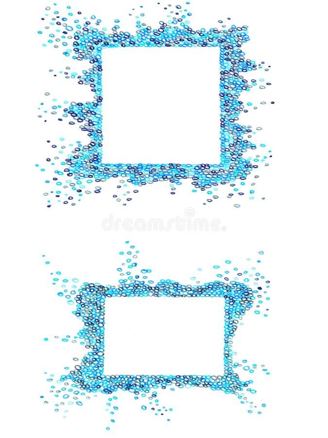 Buble frames royalty free illustration