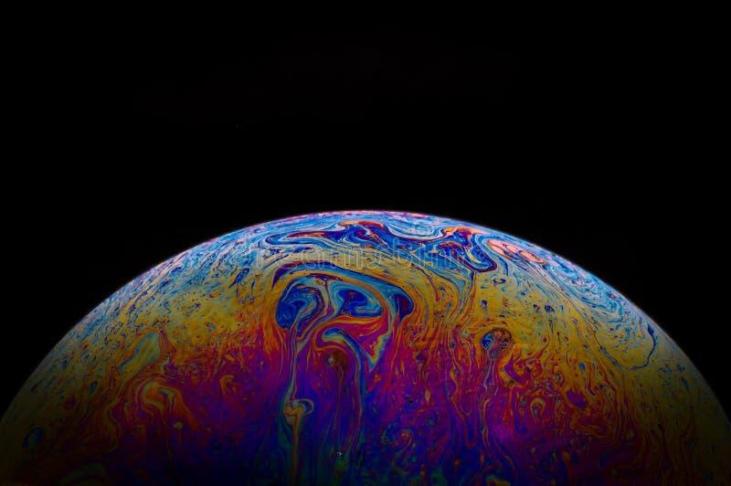 Bublle行星 库存图片