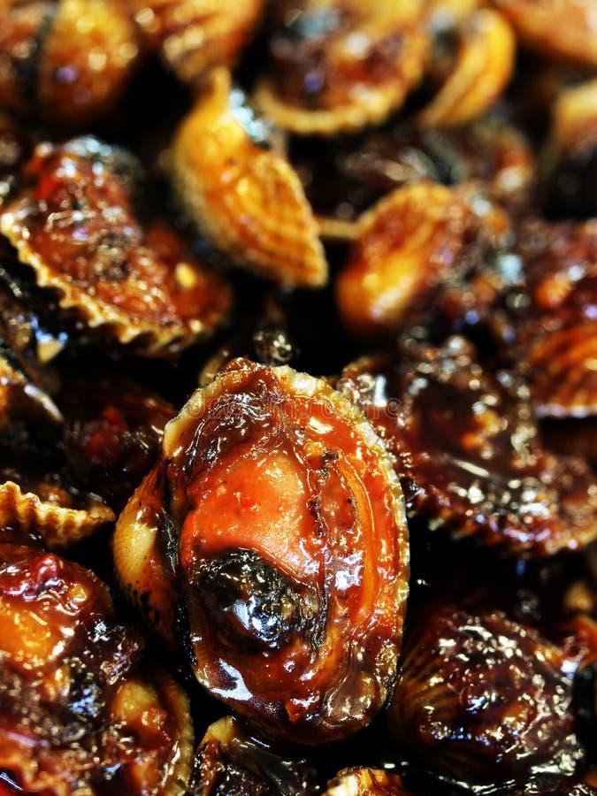 Bucardes épicées asiatiques image libre de droits