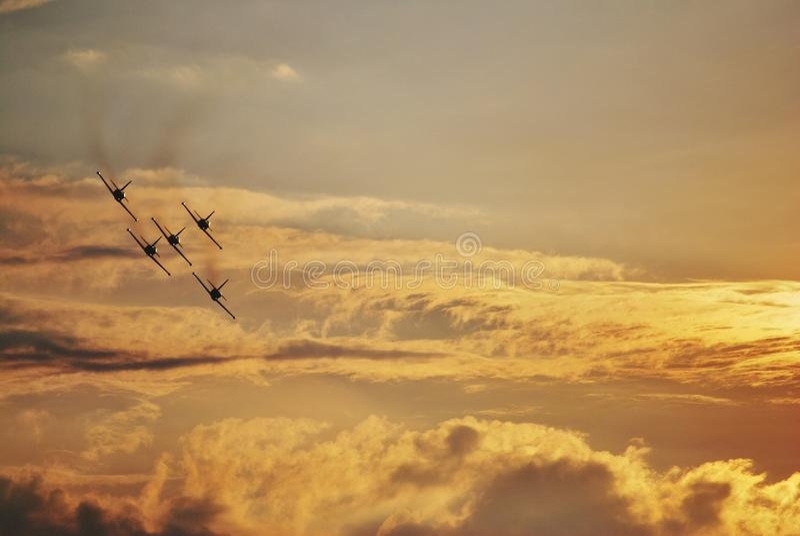 Bucarest Airshow image stock