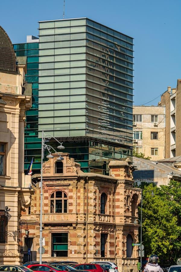 Bucarest, Roumanie - 2019 L'union de la construction roumaine d'architectes photo stock