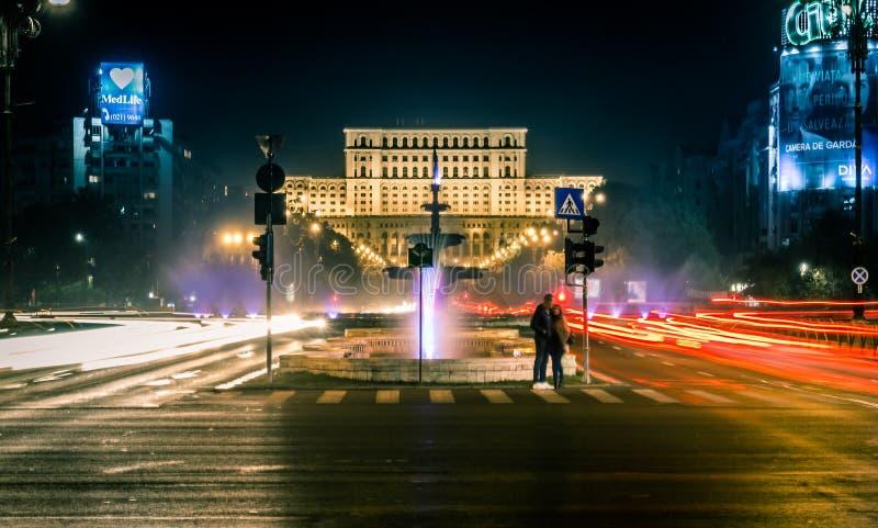 Bucarest vista a través de la lente de un explorador imagenes de archivo