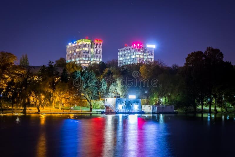 Bucarest vista a través de la lente de un explorador imágenes de archivo libres de regalías