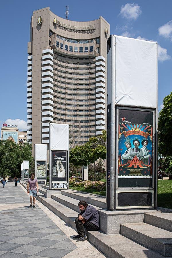 Bucareste da baixa imagens de stock