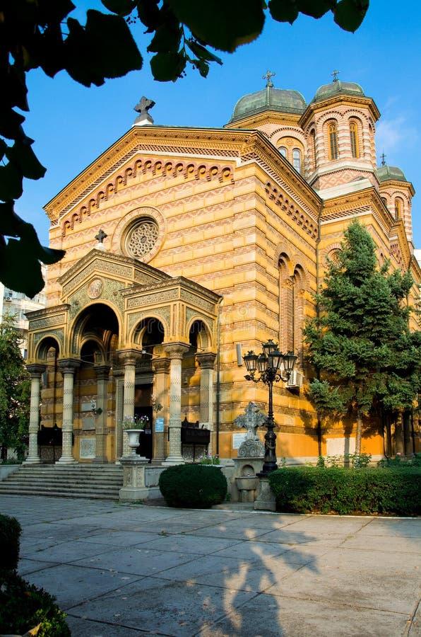 Bucareste - igreja da ascensão foto de stock