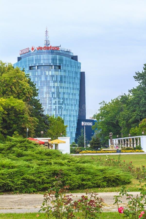 Bucareste moderna fotos de stock royalty free