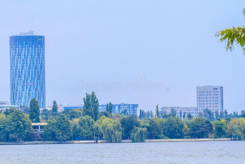 Bucareste moderna fotografia de stock royalty free