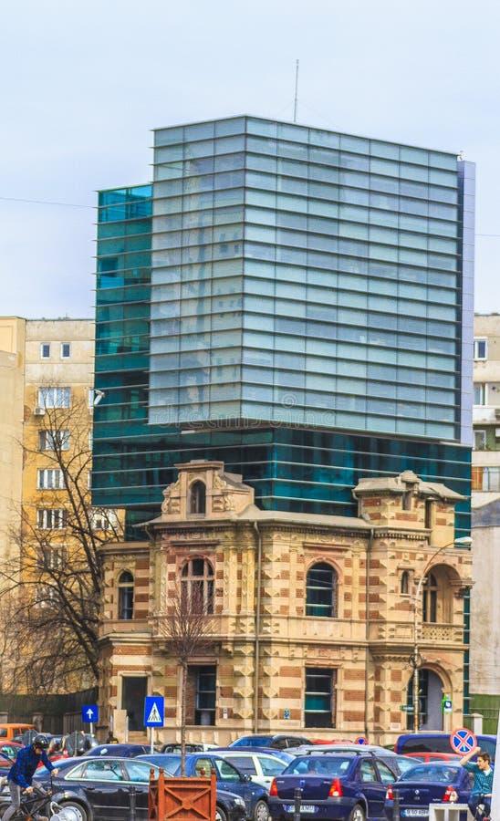 Bucareste moderna imagens de stock royalty free