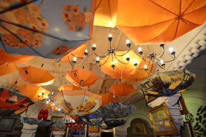 Bucareste, Romania Vincent van Gogh Restaurant imagem de stock royalty free