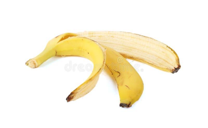 Buccia della banana fotografie stock libere da diritti