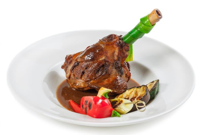 Download Carne imagem de stock. Imagem de culinary, cordeiro, garnish - 29836461