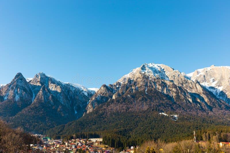 Bucegi山Busteni罗马尼亚 免版税库存图片