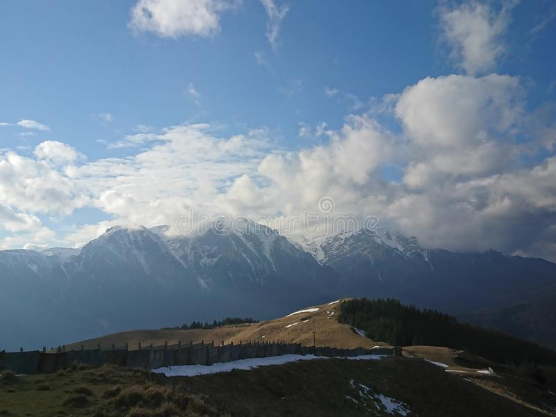 Bucegi Berge stockfotos