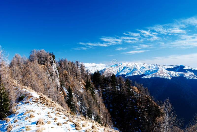 Bucegi Berge stockfotografie