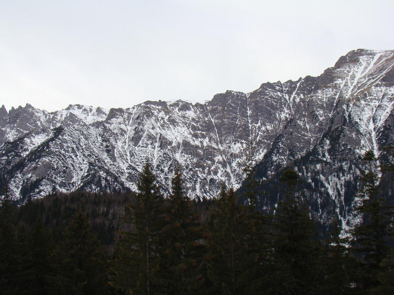 Bucegi-Berge - Rumänien stockbilder