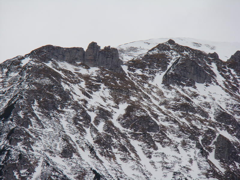 Bucegi-Berge - Rumänien lizenzfreies stockbild