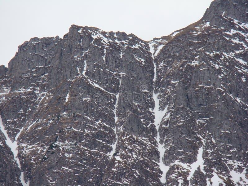 Bucegi-Berge - Rumänien stockfotos