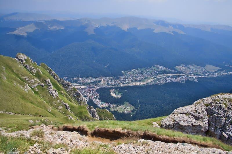 Bucegi Landscape royalty free stock photography