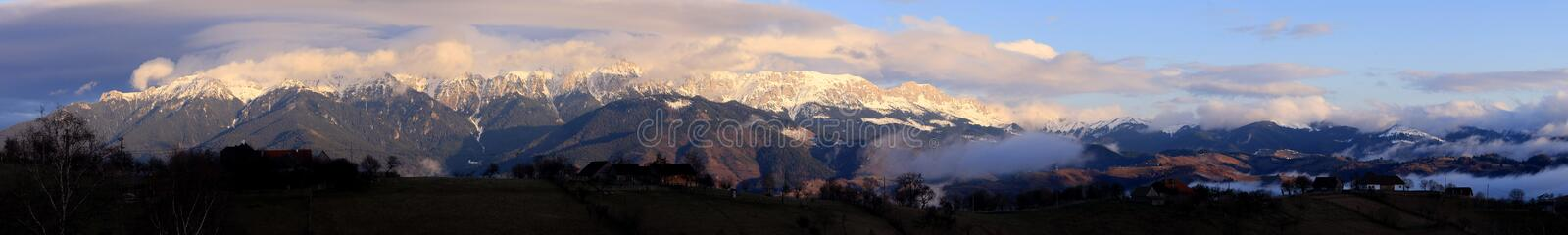 Download Bucegi And Leaota Mt Panorama Stock Photo - Image: 13890360