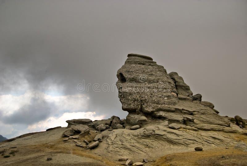 bucegi sphinx στοκ φωτογραφίες