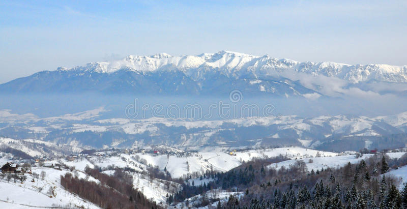 Download Bucegi Winter Landscape Romania Stock Images - Image: 13152774