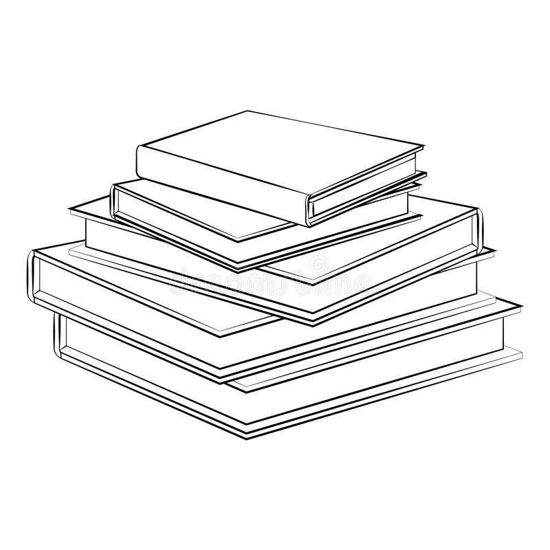 Buch stock abbildung