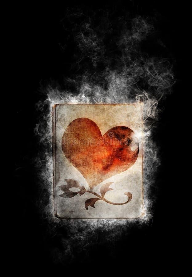 Download Buch der Liebe stockbild. Bild von valentines, heiß, rauchen - 22613873