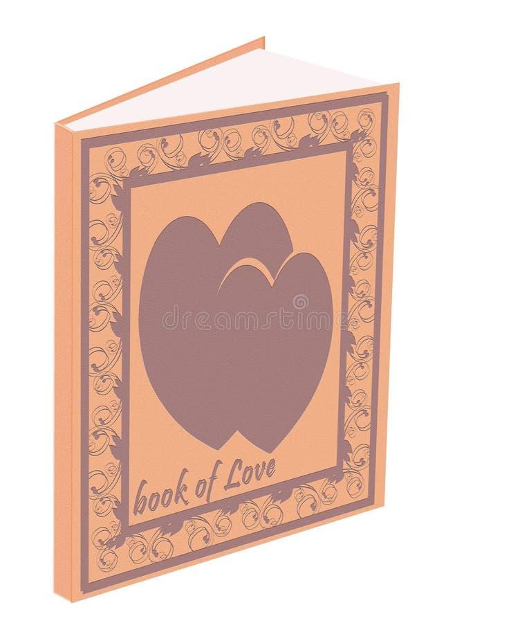Buch der Liebe lizenzfreie stockfotografie