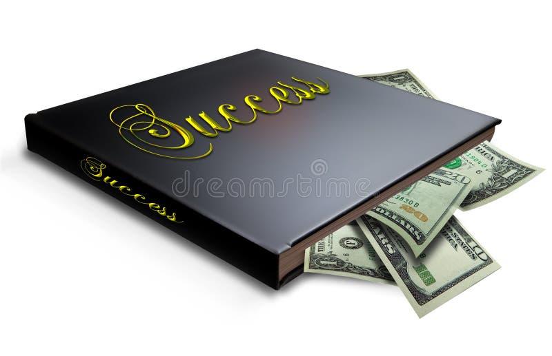 Buch des Erfolgs stockfotografie