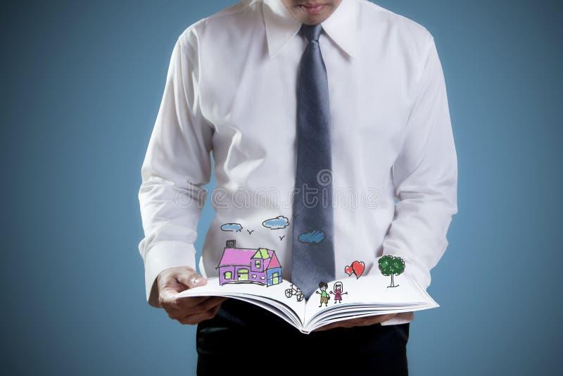 Buch des Lebens lizenzfreies stockbild
