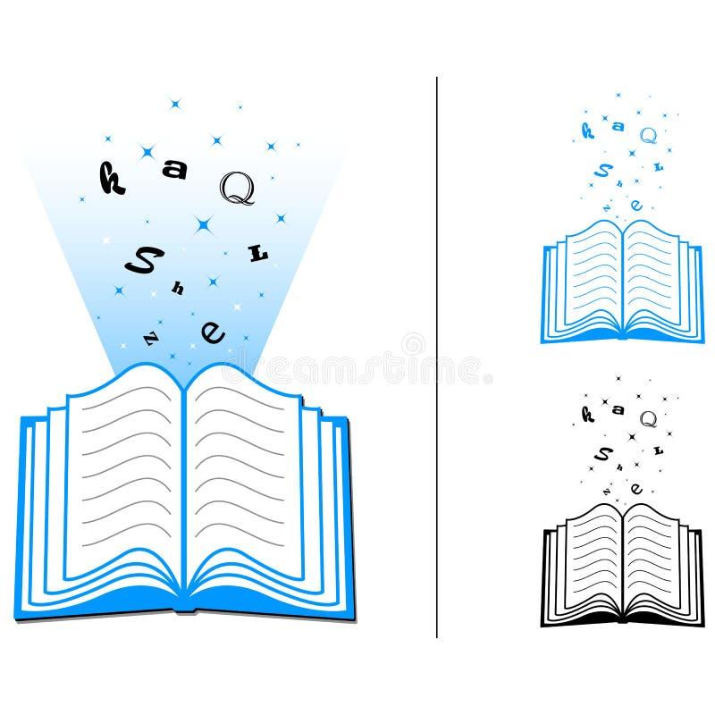 Buch des Wissens stock abbildung