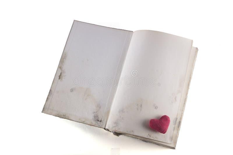 Buch mit Herd lizenzfreies stockfoto
