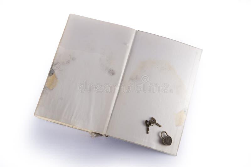 Buch mit Herd stockbild