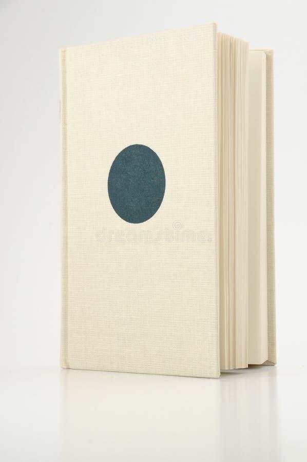 Buch mit leerer Abdeckung stockbilder