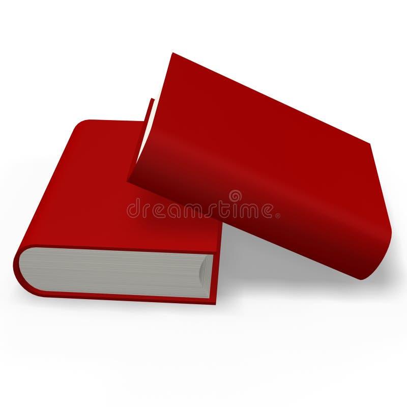 Buch oder Verzeichnis stock abbildung