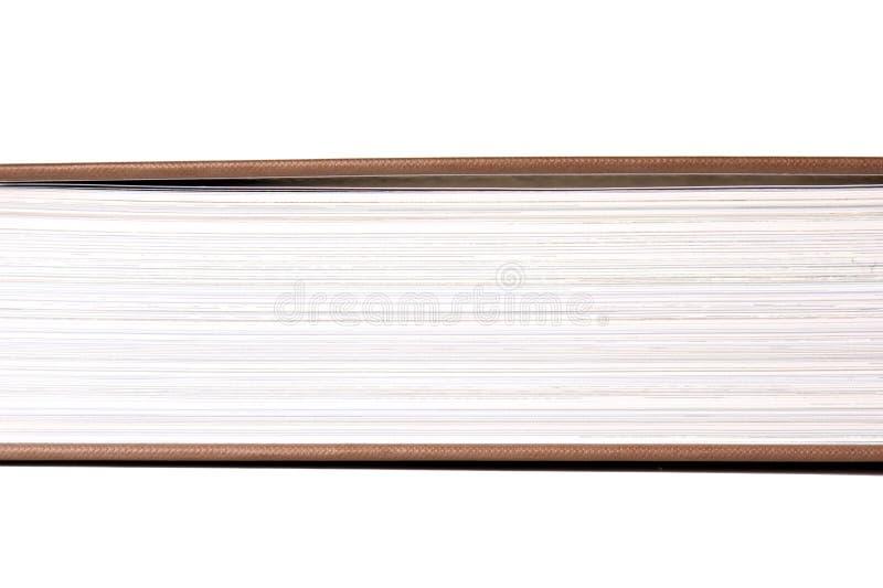 Buch paginiert Beschaffenheit lizenzfreies stockbild